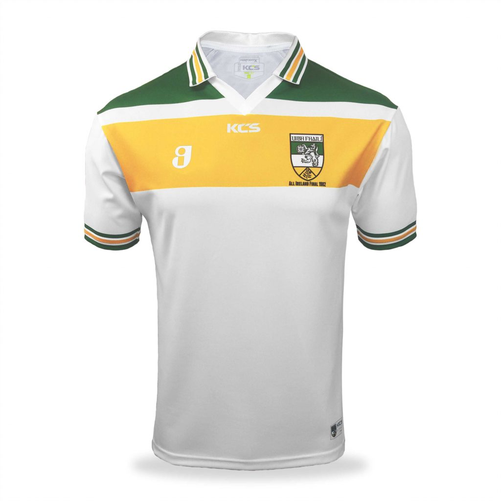 the latest 74009 125ea KCS Retro Offaly Jersey 1982